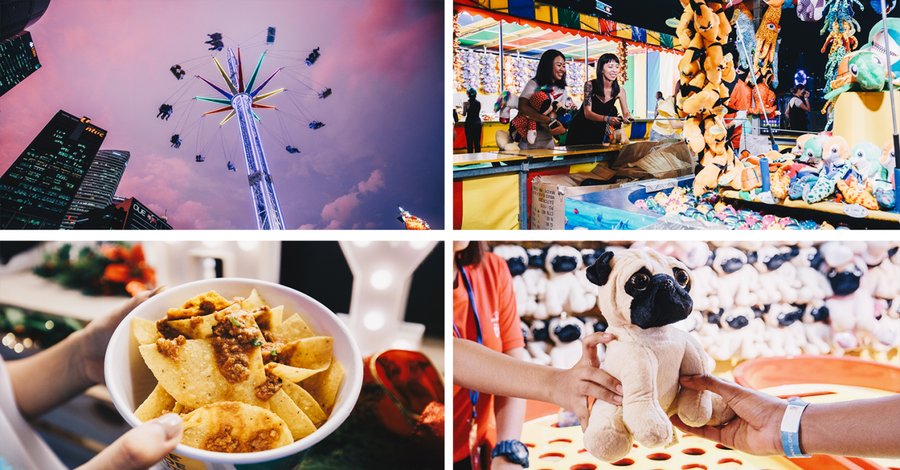 Marina Bay Carnival Guide - Games And Rides Worth Spending Your Credits On At Singapore's Largest Free-Entry Funfair
