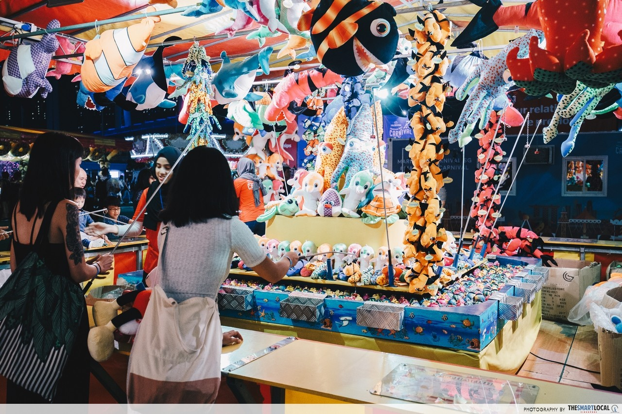 Prudential Marina Bay Carnival 2017 - Catch A Fish Prizes