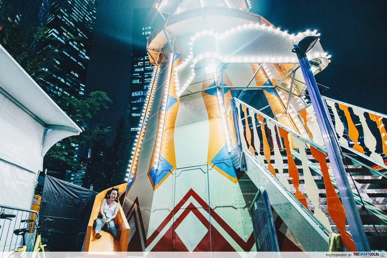 Prudential Marina Bay Carnival 2017 - Lighthouse Slip Slide