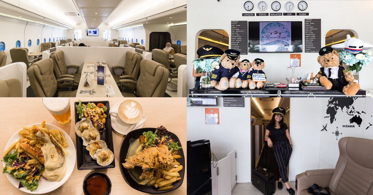 The Dreamliner Airways Cafe - Airplane-Themed Cafe In JB Just 20 Minutes From The Checkpoint