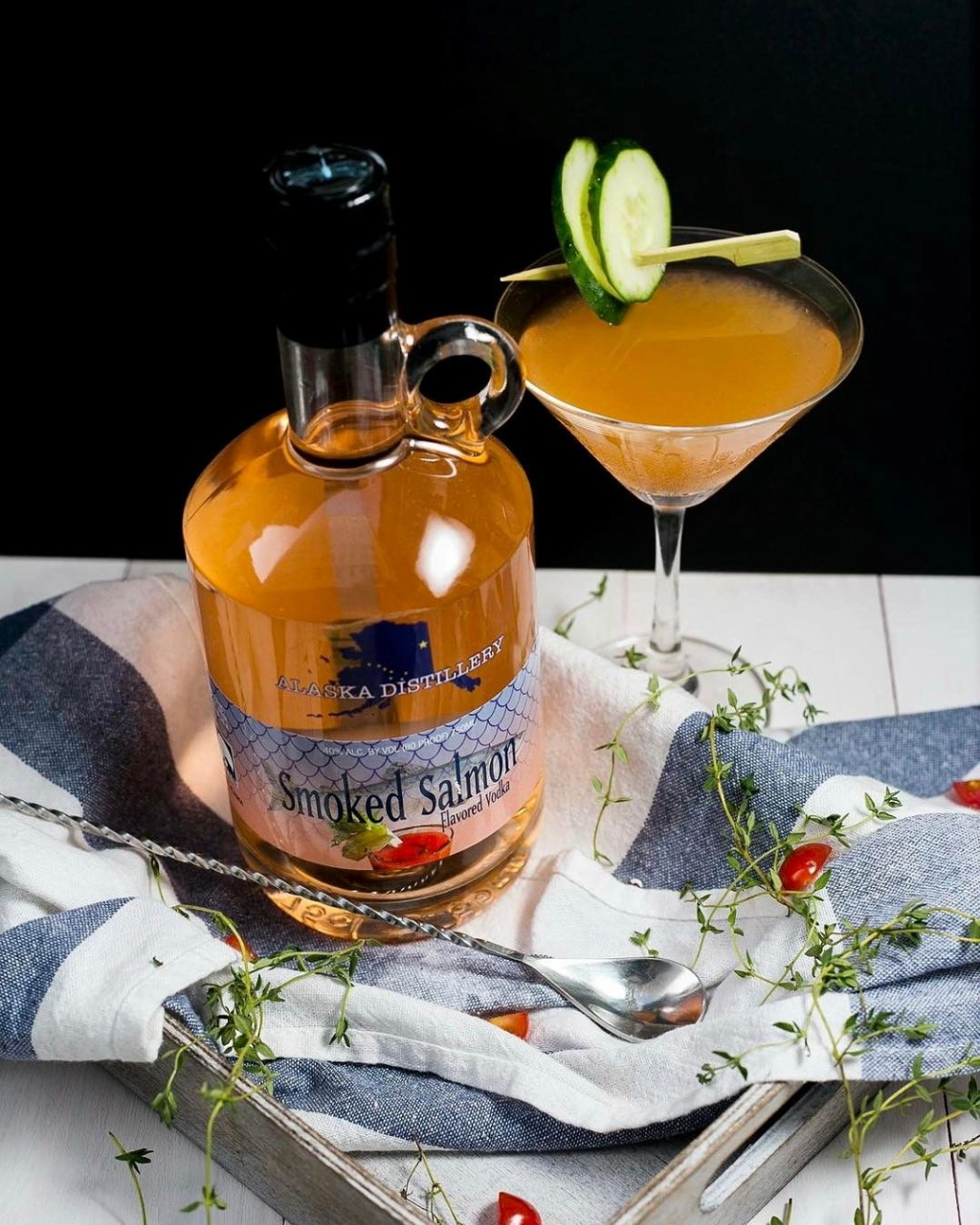 smoked salmon vodka the secret mermaid