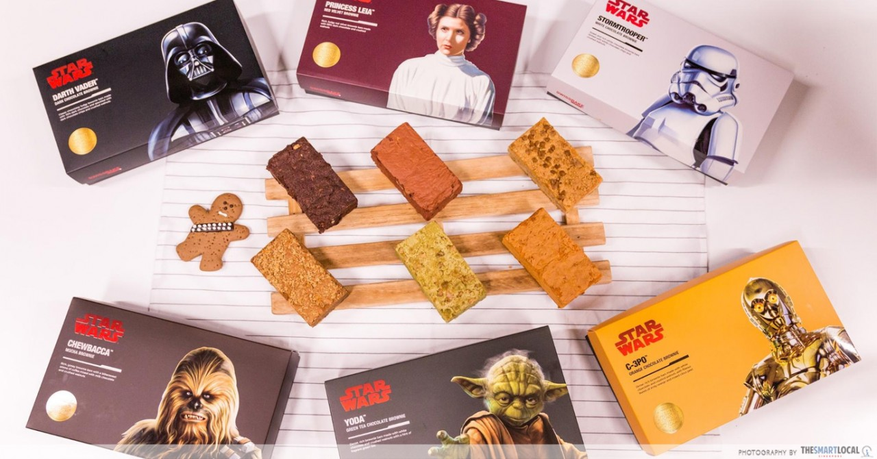 Swissbake's Star Wars Brownie Box Sets Will Up Your Potluck Game This Xmas