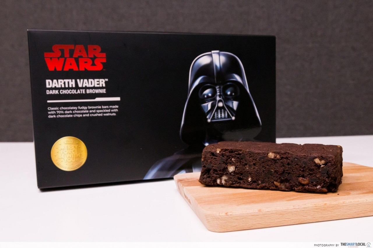 Darth Vader™ Dark Chocolate Brownie