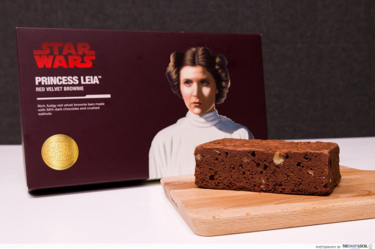 Princess Leia™ Red Velvet Brownie
