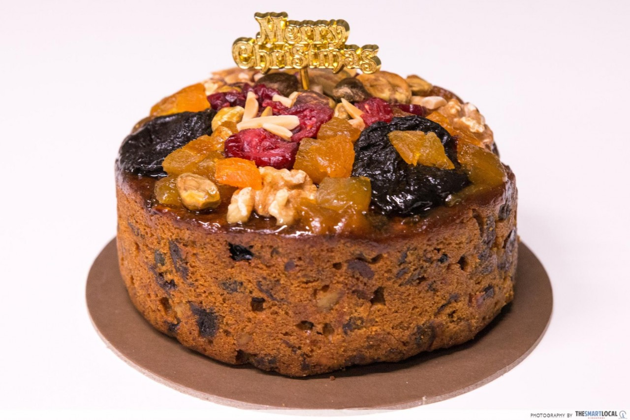 Traditional Swiss Christmas Fruit Cake