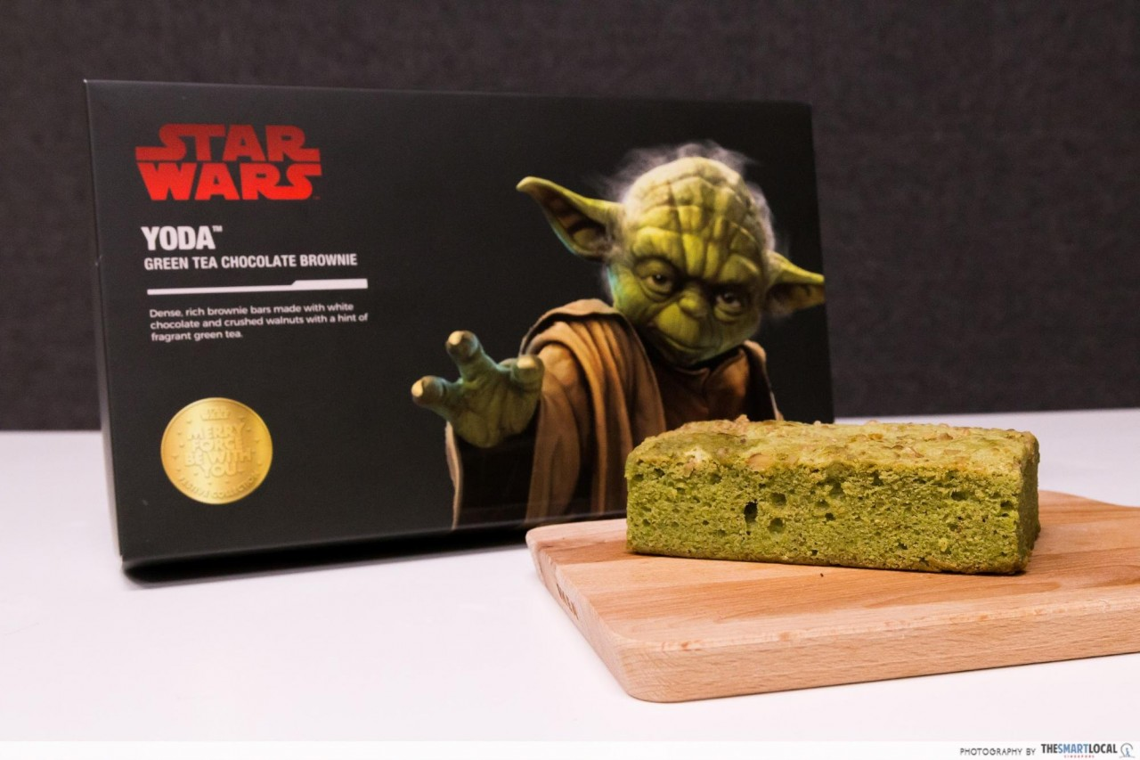 Yoda™ Green Tea Chocolate Brownie