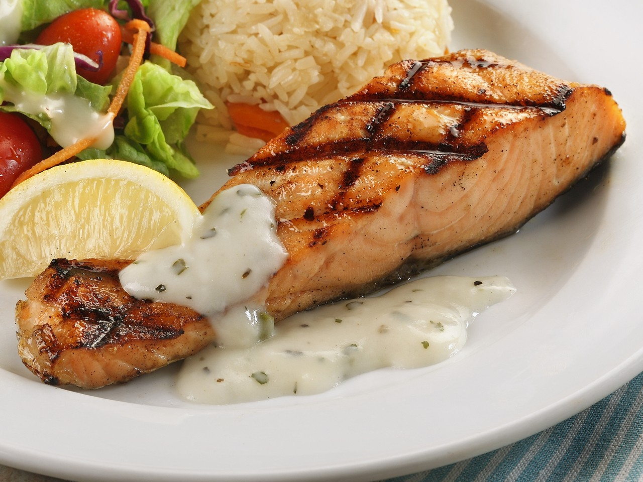 Marina Square App - Astons Grilled Salmon