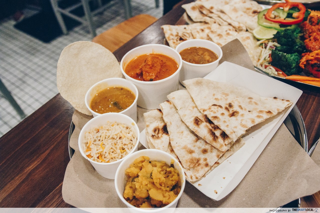 prata wala butter chicken naan set