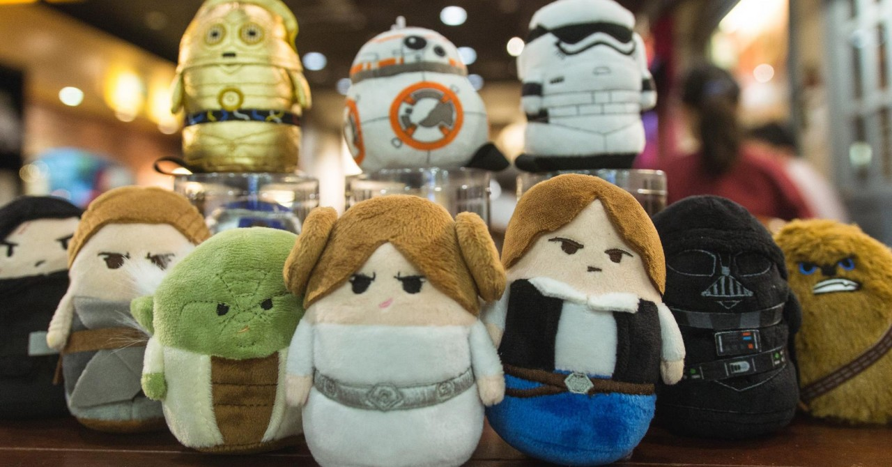 PastaMania star wars mini plushies