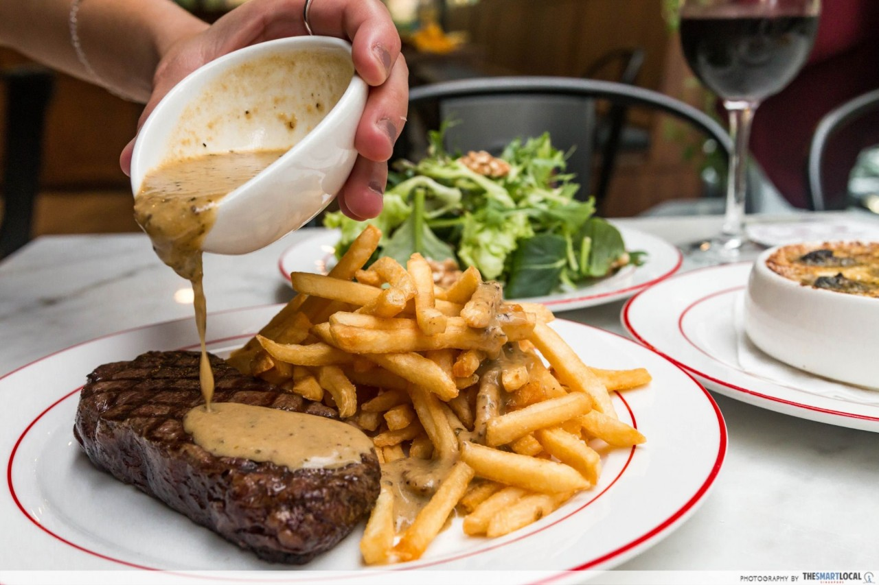 Glasshouse by DHM Grilled Entrecote Steak from L'Entrecote