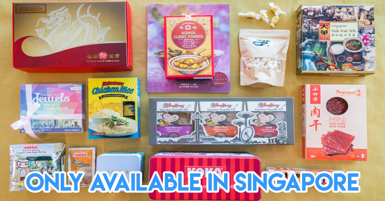 12 Singaporean Food Gifts At The Airport That Your Homesick Friends Abroad Miss More Than Your Company
