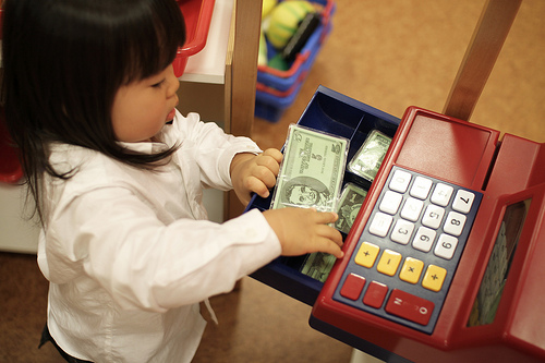 teach your child the value of money