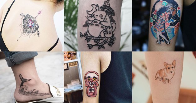 7 Korean Tattoo Artists In Seoul Who Trended On Instagram With These Unique Styles