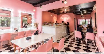 "Once Upon A Time Cafe & Boutique - Millennial Pink Cafe In JB With ""Style Nanda"" Vibes"