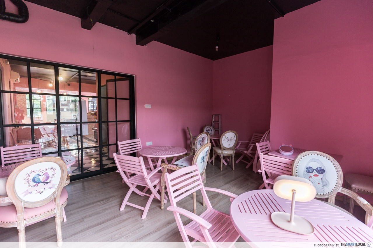 Once Upon A Time Cafe Amp Boutique Millennial Pink Cafe In