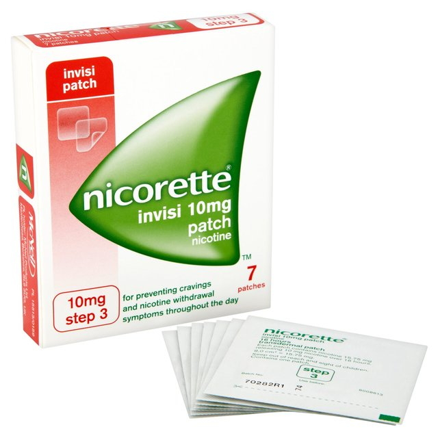 nicorette invisi transdermal patch