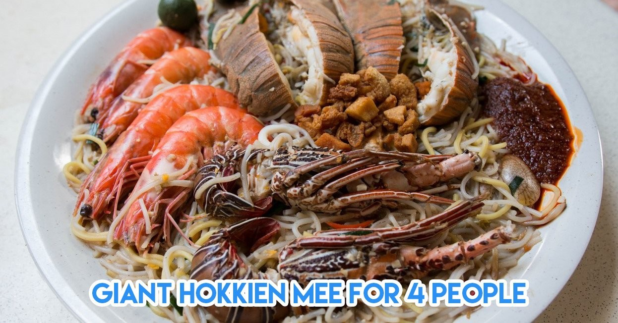 7 Over The Top Seafood Dishes In Singapore That Are Only Available At Selected Hawker Centres
