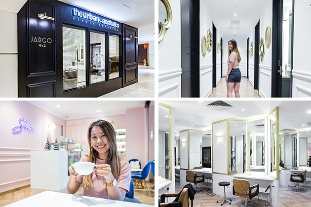 JARGO hair salon interiors