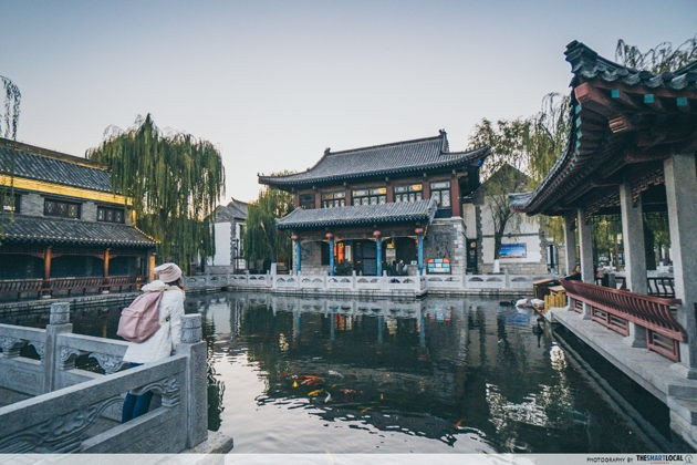 Must go places in jinan china qushuiting street