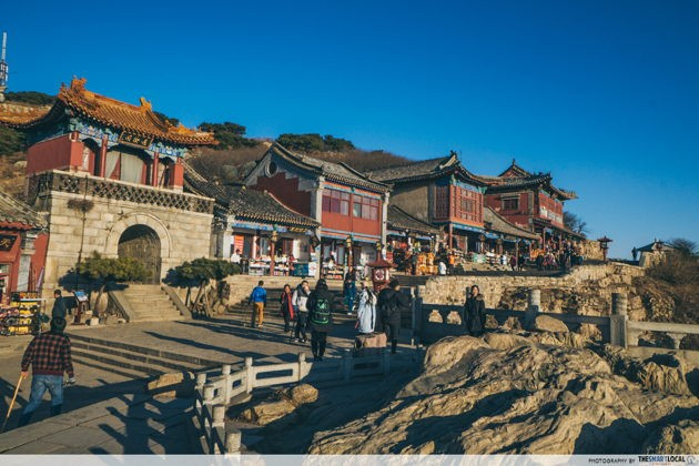 Best things to do in Jinan China Mount Taishan Tianjie spirited away lookalike