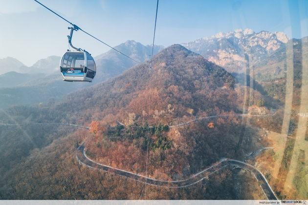 Best things to do in Jinan China Mount Taishan cable car