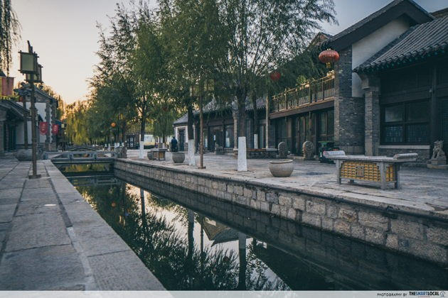 Places to go in jinan china qushuiting street canals