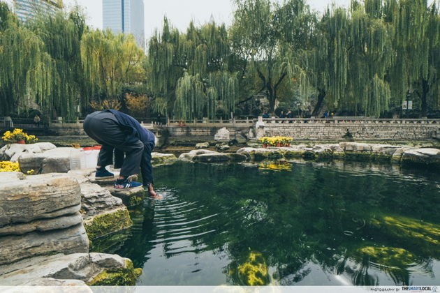 Top things to do in Jinan China Black Tiger Spring