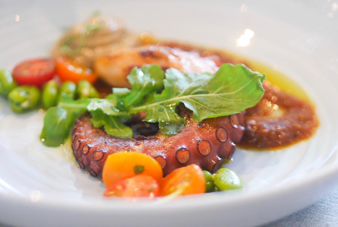 A new year, a fresh diet (41) - Octopus charred with smoked paprika