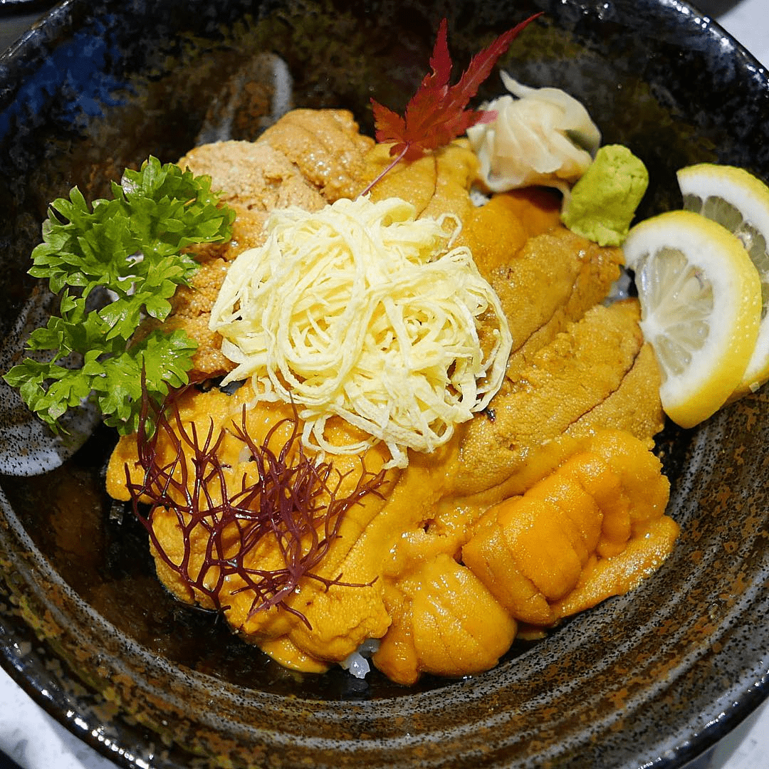 A new year, a fresh diet (44) - Uni chirashi don