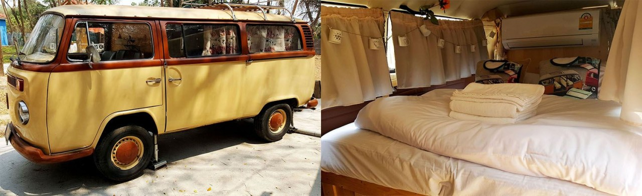 Sleep in a Camper Van at Ozono Resort