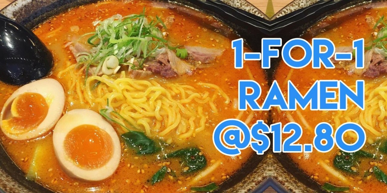 Jan deals - 1-for-1 ramen