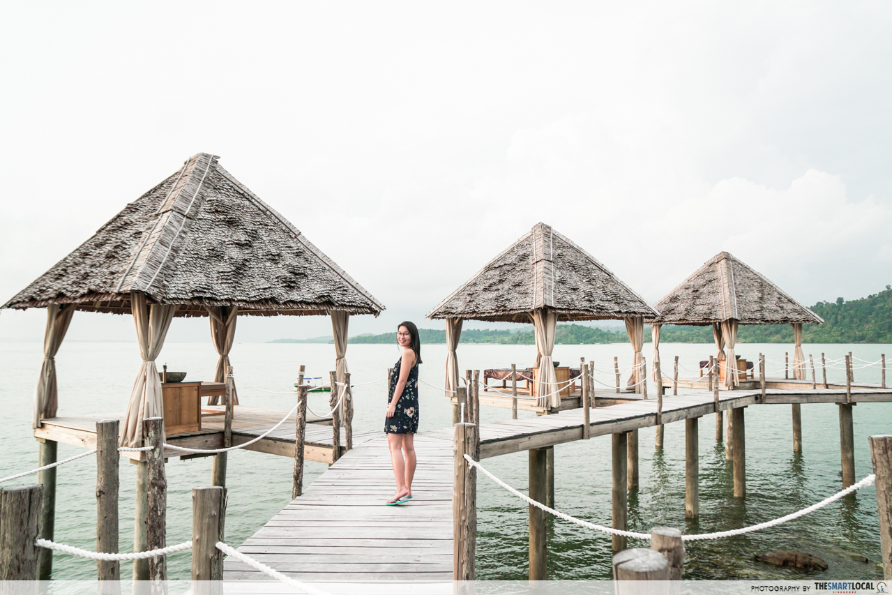 Telunas Resorts (3) - Spa jetty