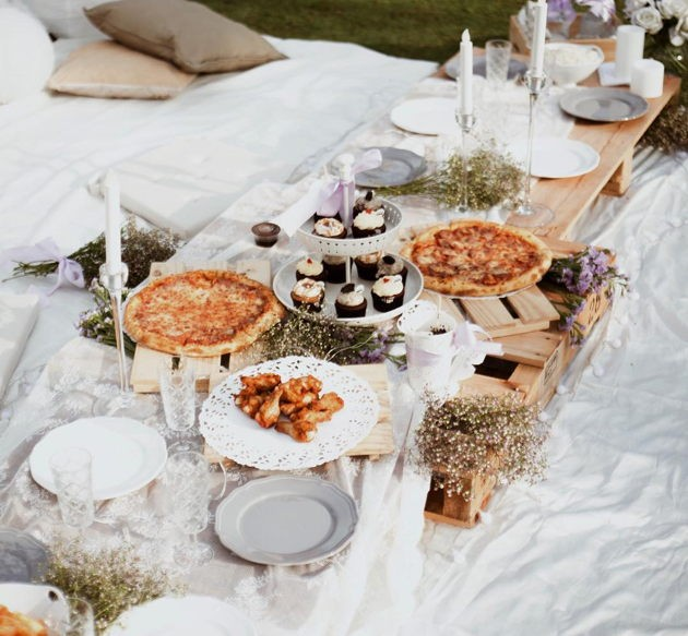 Plan B rustic themed picnic setups catering companies in Singapore