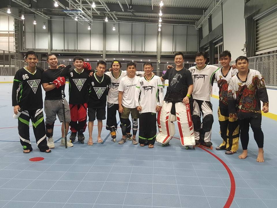 Exercise communities and sports clubs to join for beginners Singapore Inline Hockey