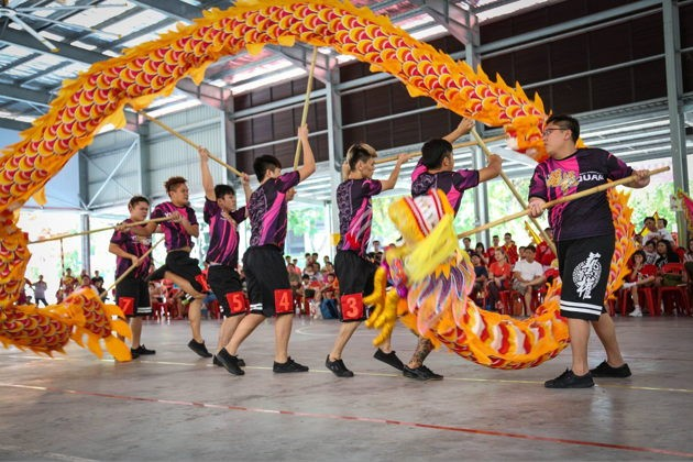 Yi Quan Athletic Association Lion dancing exercise communities and sports clubs to join for beginners