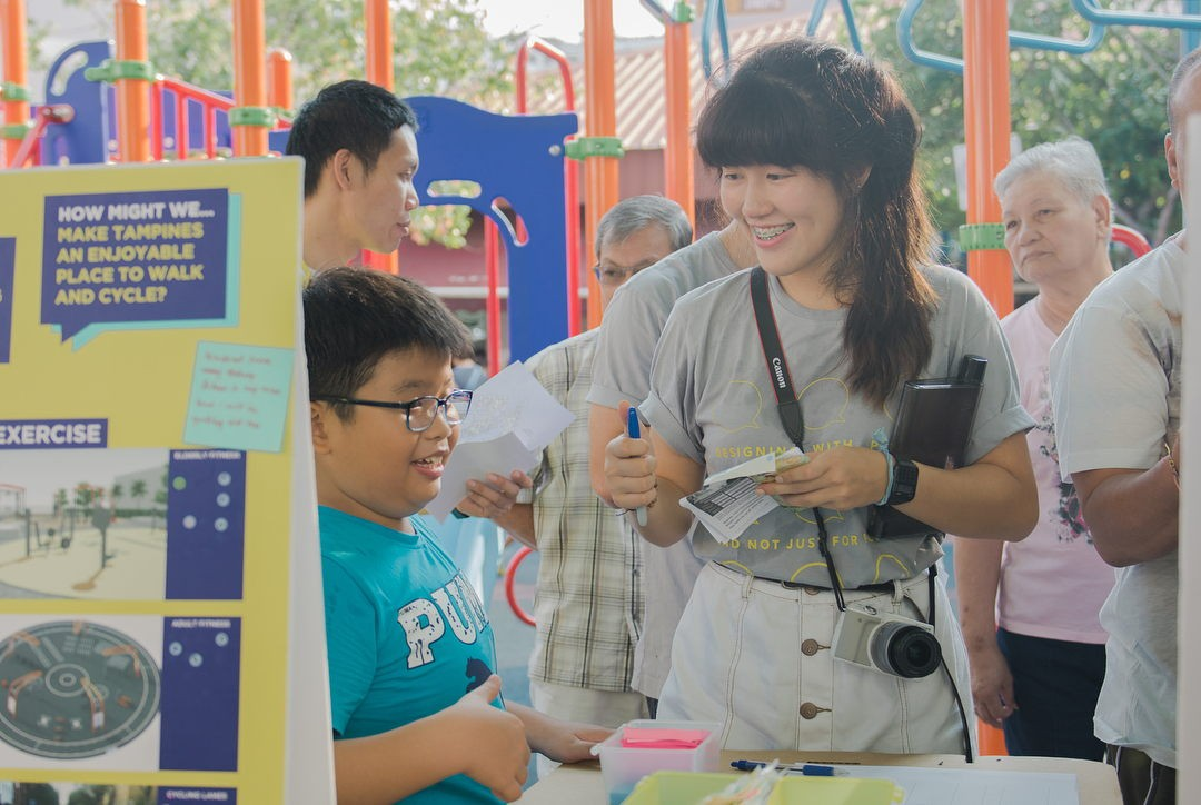 Participate In Design new ways to volunteer in Singapore with design