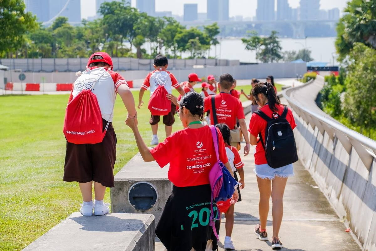 Youth Corps heritage and nature trail guide fun low commitment ways to volunteer in Singapore