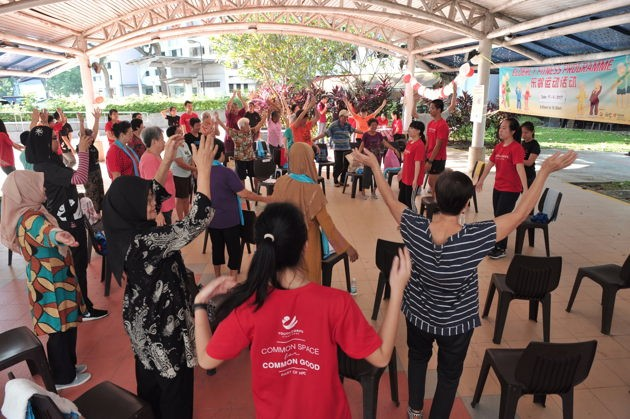 Youth Corps Singapore fitness facilitator new low commitment ways to volunteer in Singapore