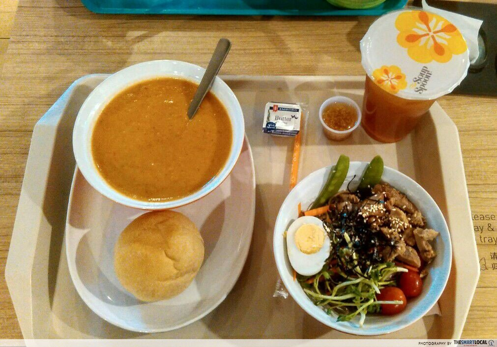 The Soup Spoon cheap western food new weekend student set meal