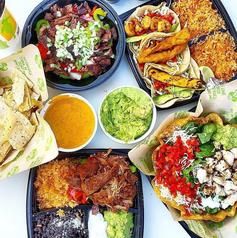 Baja Fresh cheap mexican food weekend student set lunch