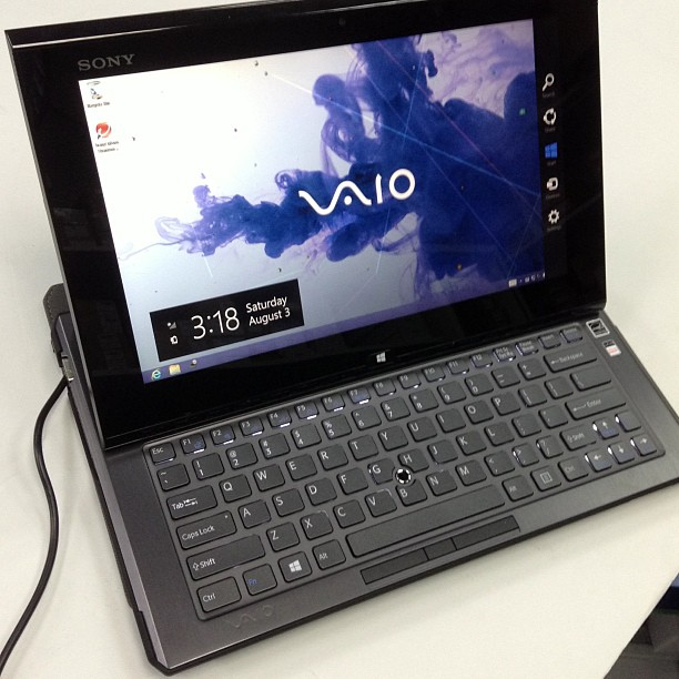 Seemingly useless items (11) - Sony VAIO laptop