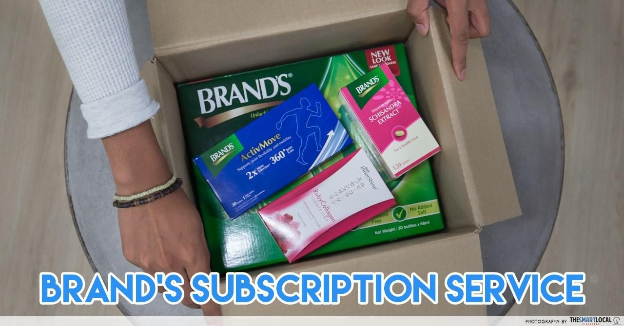BRAND'S - subscription box
