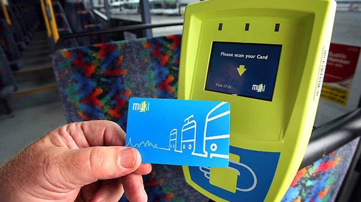 Studying in Australia - student transport card