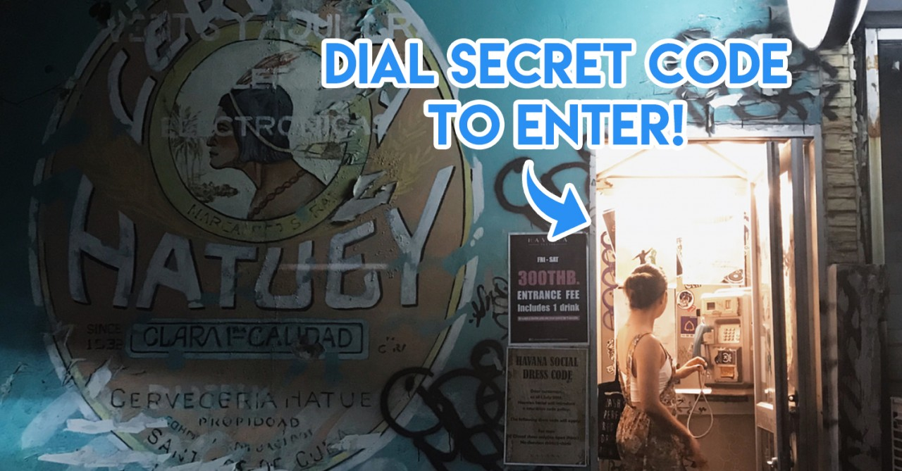 10 Secret Bars In Bangkok Hidden Behind Phone Booths, In Alleys & Railway Carriages