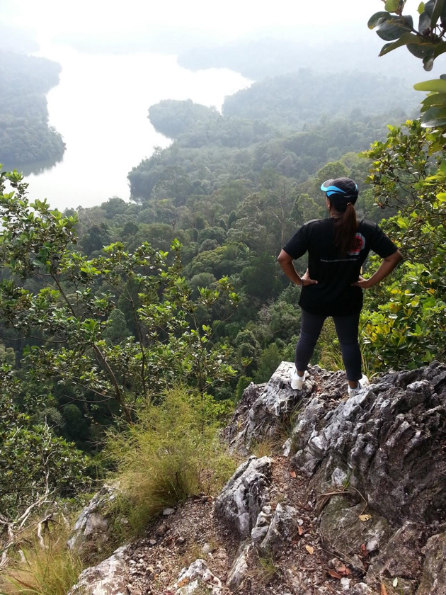 hiking in kuantan