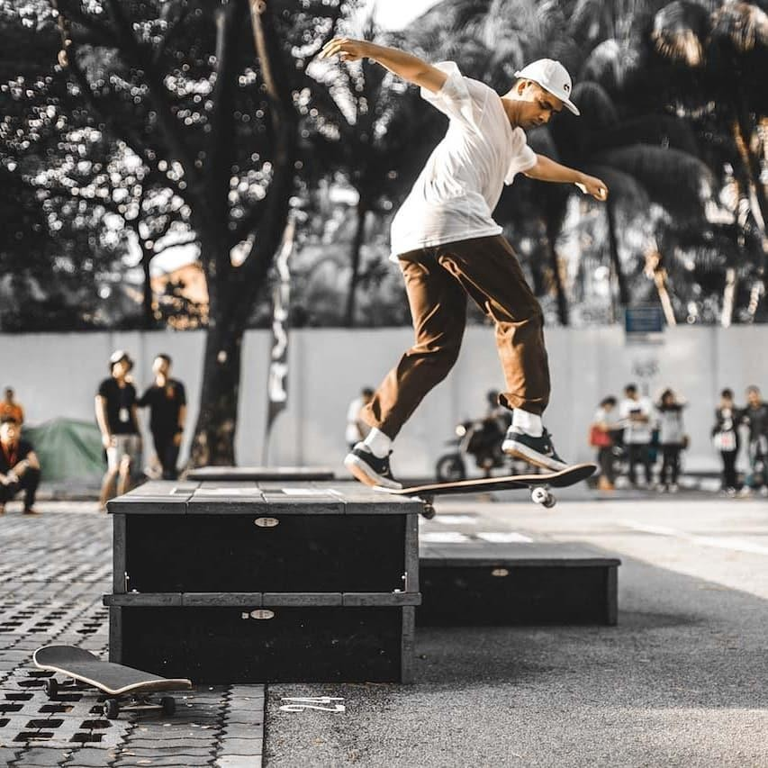 Singapore Arts Festival - skating competition