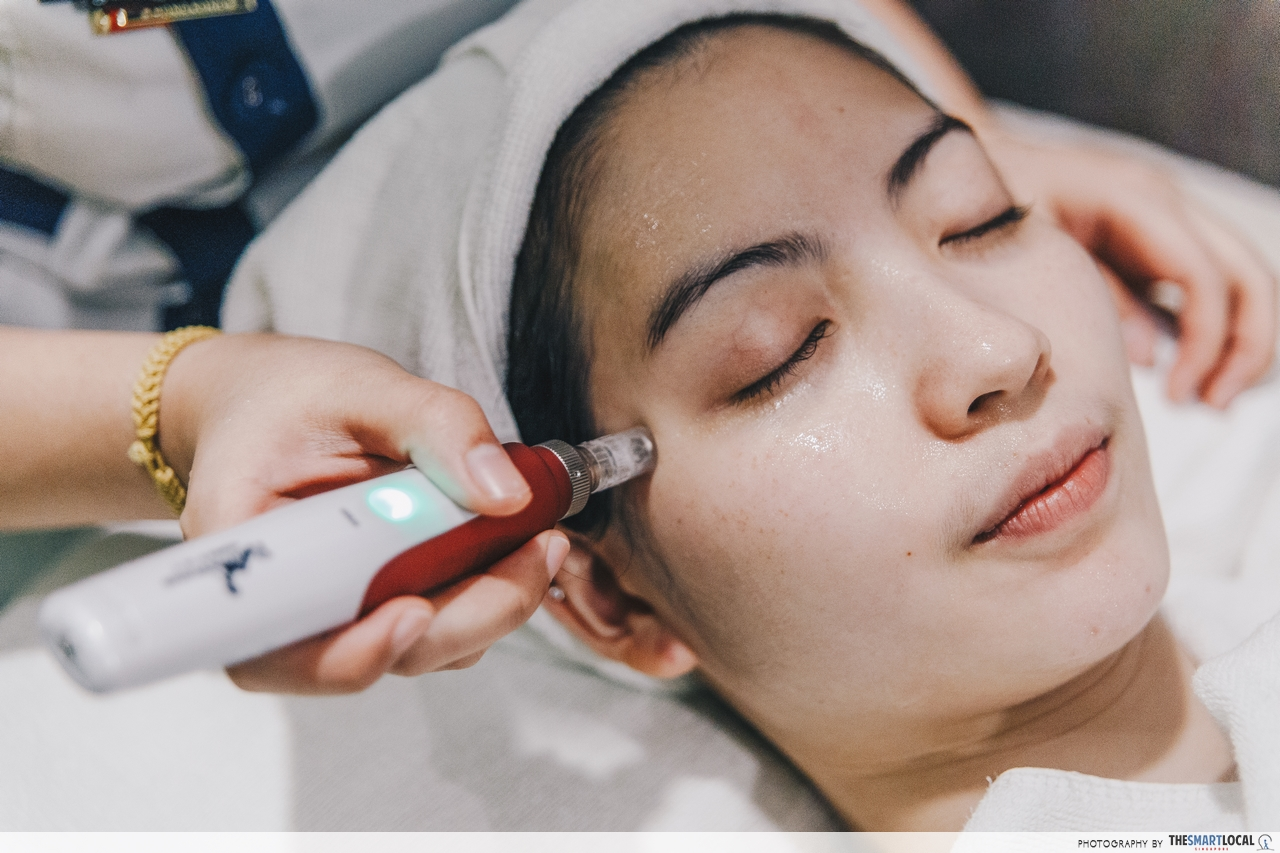 Mirage Aesthetic's BB Covered Foundation Facial From Korea