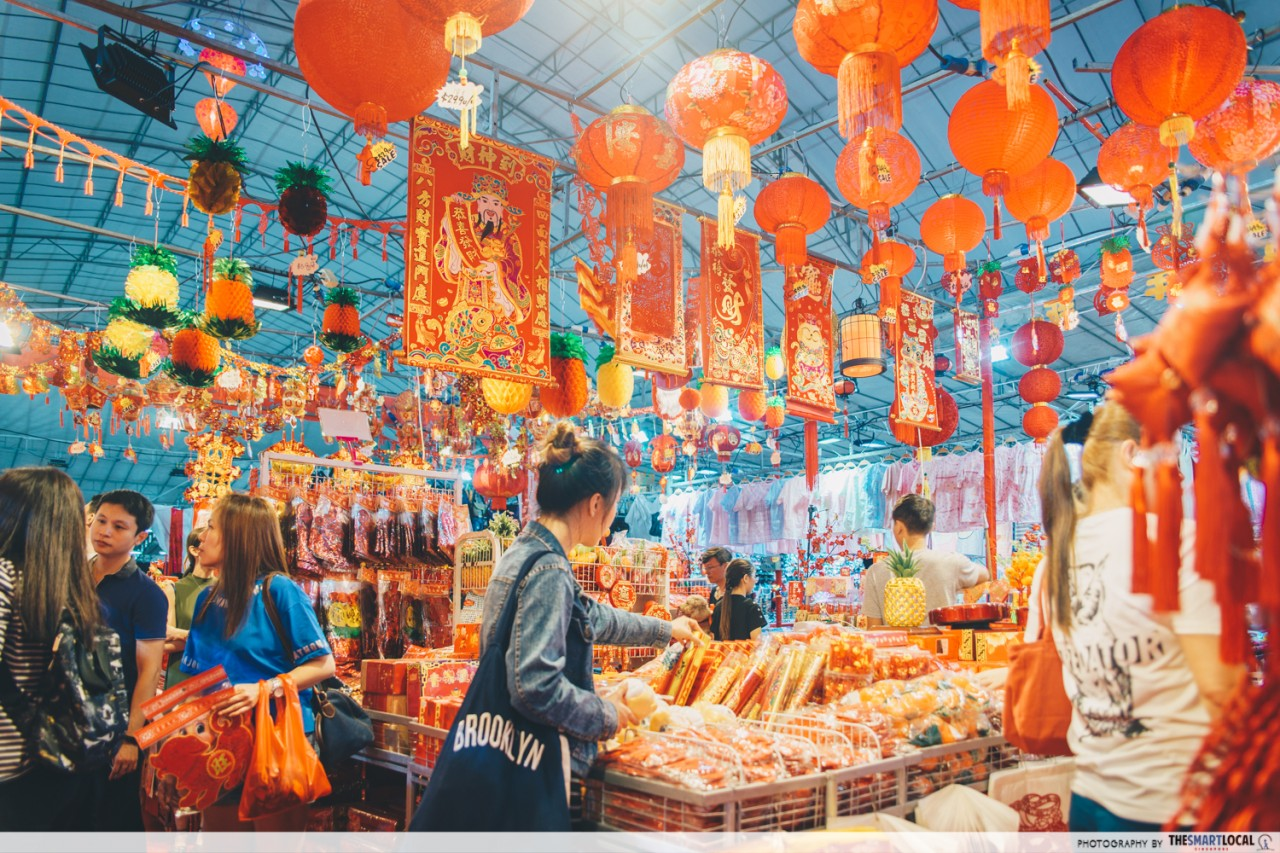 chinese new year decorations shop