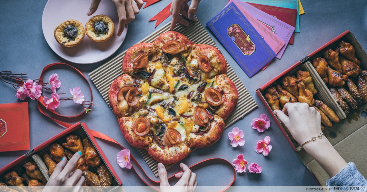 "6 Limited-Time Dishes From Pizza Hut's CNY Menu To ""Jia Liao"" For Last Minute Guests"