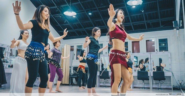 We Tried Desert Roses' Belly Dancing Class To Make Burning Calories And Muscle Toning Fun